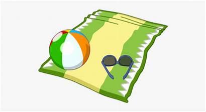 Beach Towel Clipart Cartoon Transparent Netclipart Umbrella