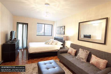 Small Apartment Sofas Nyc Small Studio Apartment Design In