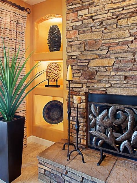 Gorgeous Fieldstone Fireplace To Pick