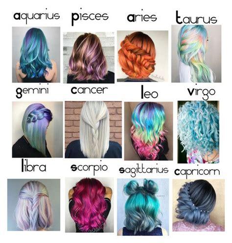 zodiac hair colors zodiac zodiac sign fashion hair