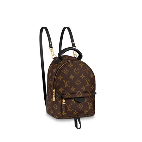 palm springs mini monogram  brown handbags  louis vuitton