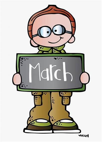 Clipart March Melonheadz Ides Classroom Pe Vector