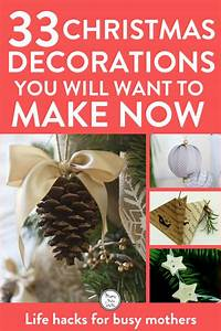 35, Of, The, Best, Diy, Homemade, Christmas, Decorations, To, Make