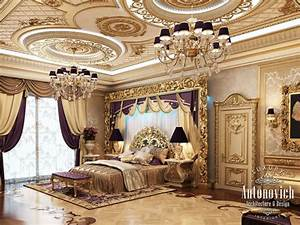 Royal Master Bedroom Design & Furniture – Classical Interior