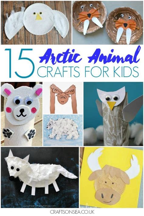 25 easy and arctic animal crafts for preschool 826 | 123a27d08f822a191b9ebfc0742724a2