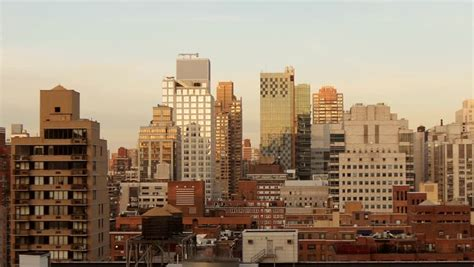 City Building Backgrounds by Modern Real Estate Background Skyline Stock Footage