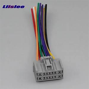 Liislee Car Cd Dvd Player Power Wire Cable For Chevrolet