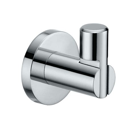 gatco channel single robe hook in chrome 4685 the home depot