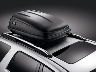 roof mounted luggage cross rails gm  oem gm