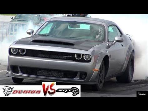 The 402 meter (sometimes erroneously referred to as 400 meter) sprint is the most popular discipline in professional drag racing and street car testing alike. 2018 DEMON vs HELLCAT DRAG RACE !! Stock 840 HP Demon vs 707 HP Hellcat - 1/4 Mile - RoadTestTV ...