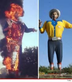 Texas State Fair Big Tex Fire