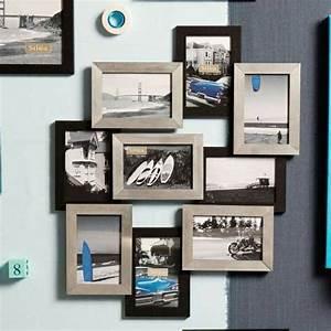 Créer Un Cadre Photo : beaucoup d 39 id es avec un cadre photo multivues et un cadre photo p le m le ~ Melissatoandfro.com Idées de Décoration