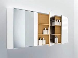 Miroir Salle De Bain Rangement : shape miroir avec rangement by falper design michael schmidt ~ Teatrodelosmanantiales.com Idées de Décoration