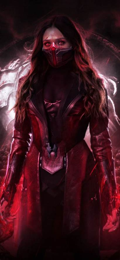 Witch Scarlet Iphone Hdqwalls Wallpapers Comics 4k