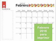 Las 25 mejores ideas sobre Calendario Febrero 2016 en