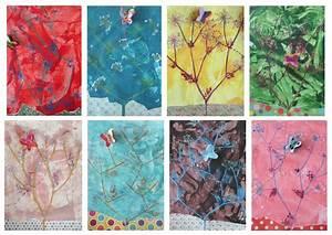 Papillon Papier De Soie : papillons et fleurs de carottes loup glac ~ Zukunftsfamilie.com Idées de Décoration