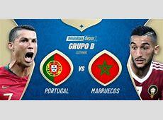 Portugal vs Marruecos EN VIVO ver por Rusia 2018