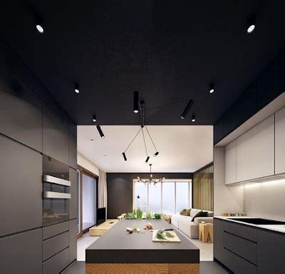 desain plafon minimalis modern terbaru desain model