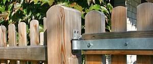 Gartentüren Aus Holz : gartentore aus l rchenholz die zaunfabrik natur wir die ~ Michelbontemps.com Haus und Dekorationen