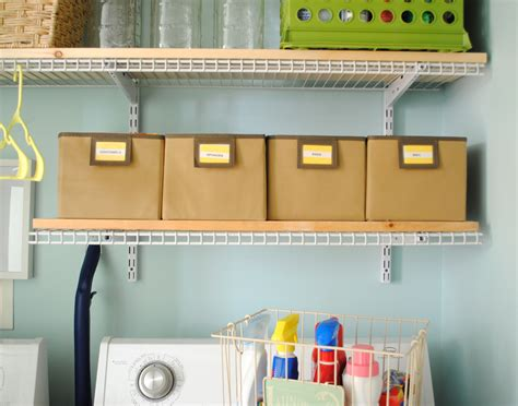 wire shelf washer and dryer laundry room quot closet quot reveal burger