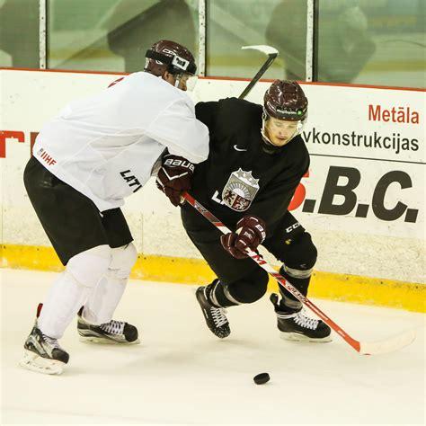 Paškausks trenējās U20 izlasē   Hokeja klubs