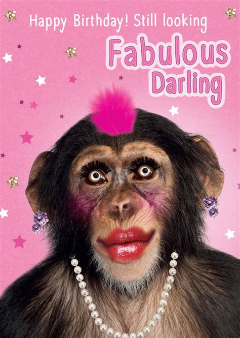 tracks publishing  monkey birthday cards fnq