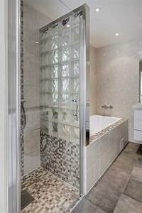 Modele De Douche Italienne : salle de bain avec baignoire et douche galerie et petite ~ Dailycaller-alerts.com Idées de Décoration