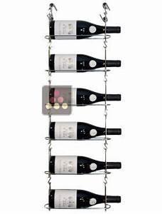 Support Bouteille Mural : support mural de 6 bouteilles chain my wine aci cmw100 rangement vin casiers bouteilles ~ Carolinahurricanesstore.com Idées de Décoration