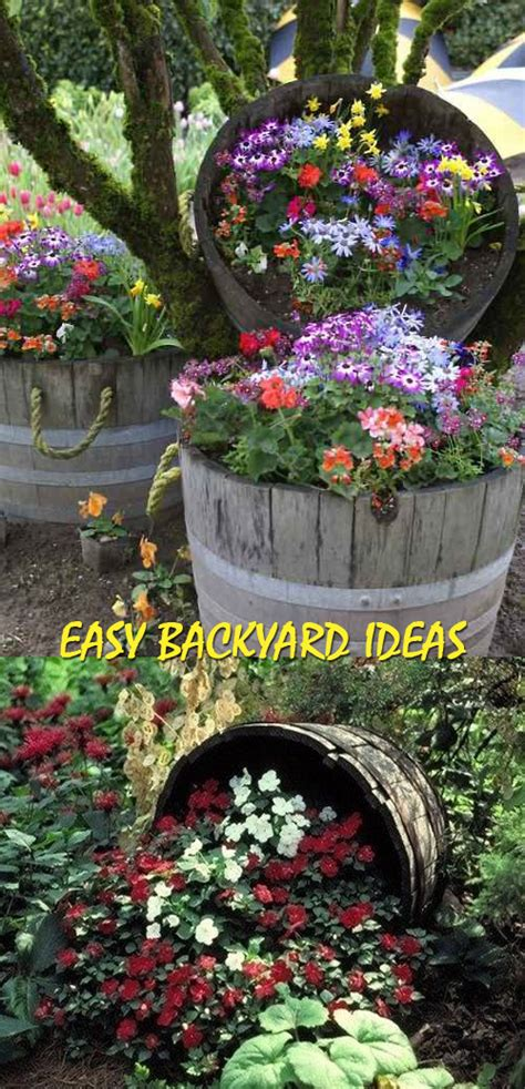 easy backyard ideas good house wife