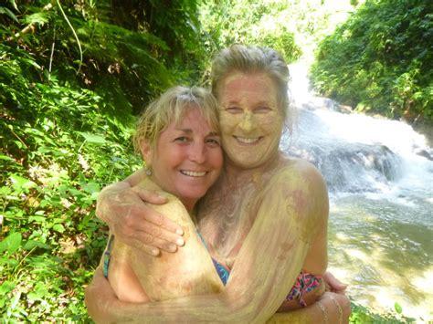 Jamaica Waterfall Benta River Falls Discover Nature