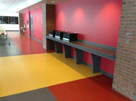 mondo rubber flooring harmoni college cafeteria mondo harmoni 3mm in tiles mondo