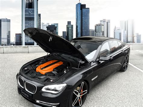 Bmw 760i With A Little Touch Of Gpower Carscoops