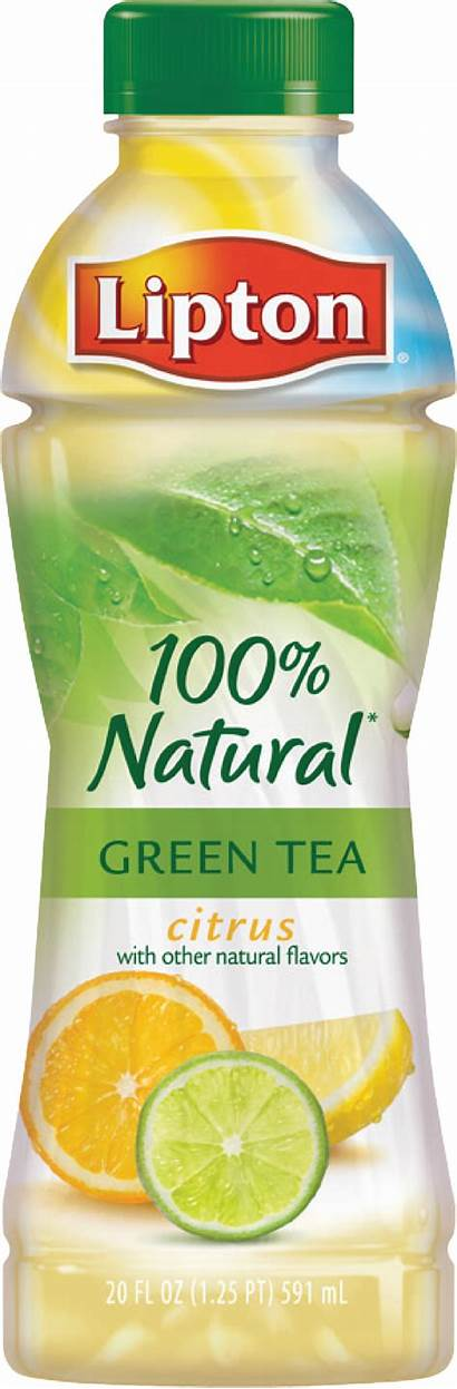 Lipton Tea Citrus Natural Menu