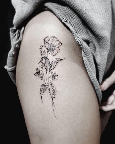 Best 25+ Flower Bouquet Tattoo Ideas On Pinterest