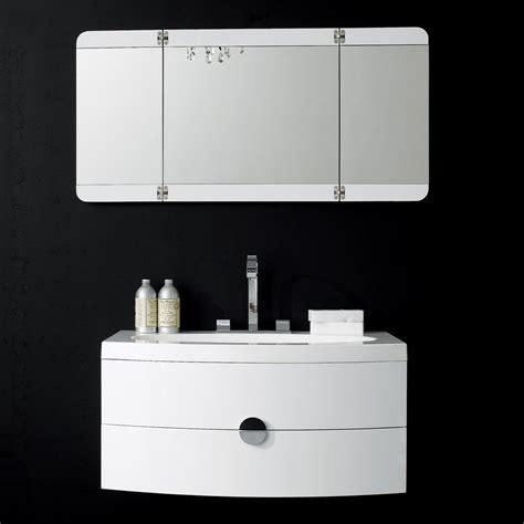 Bathroom Vanity Units - lusso wall mounted designer bathroom vanity