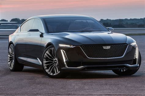 future cadillac escala cadillac escala concept first look a picture window into