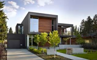 contemporary modern house sd house modern exterior edmonton by thirdstone inc