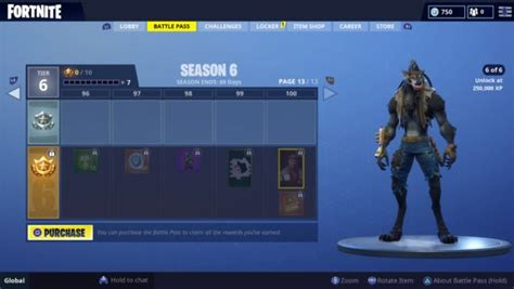 Fortnite Season 6: What the Season 6 Tier 100 Reward Is