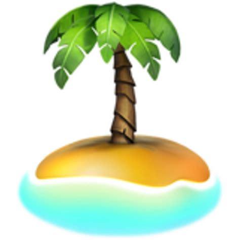 desert island emoji ufdd