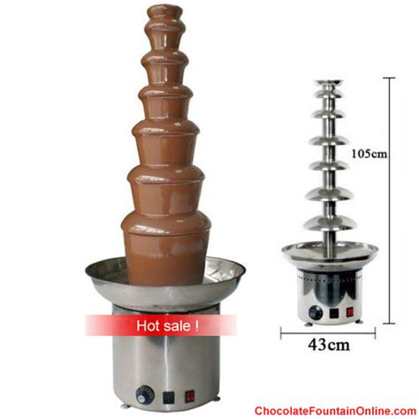 tiers commercial chocolate fountain  cheap price