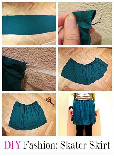 Gestalten Diy by Tutorial Diy Fashion Skater Skirt Diy Fashion Tutorial