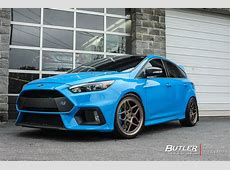 Ford Focus RS with 19in Vossen LC104 Wheels exclusively