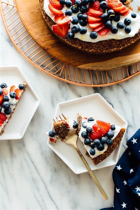 almond cake gluten recipe honey easy cookie sweetened berries slices kate