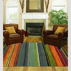 Large Area Rug Colorful 8x10 Living Room Size Carpet Home