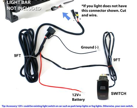 Universal Wiring Relay Harness Switch For
