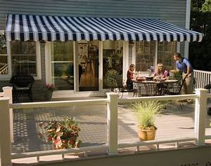 11 U0026 39  Sunsetter Vista Awning With Acrylic Fabric By
