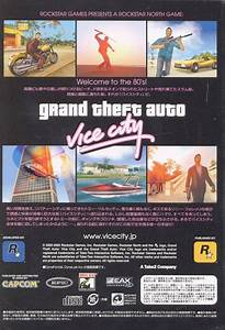 Grand Theft Auto Vice City Box Shot For Pc Gamefaqs