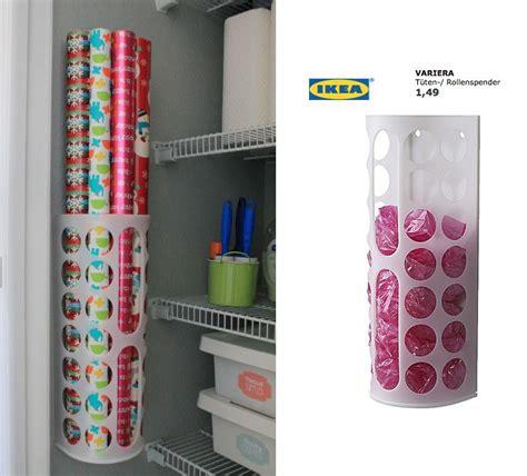 ikea aufbewahrung geschenkpapier happy organized geschenkpapier organisation ideen f 252 r