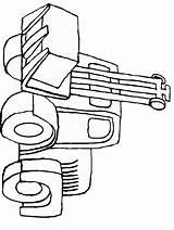 Coloring Pages Tools Construction Transportation Bulldozer Colorat Colouring Cliparts Clip Clipart Truck Bulldozers Tancuri Cu Fise Popular Coloringhome Library sketch template