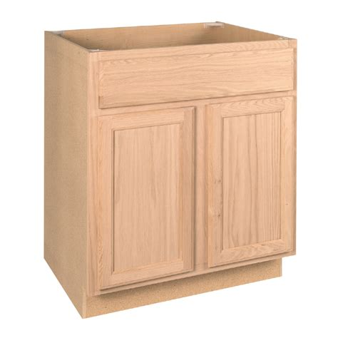 unfinished kitchen base cabinets with drawers shop project source 30 in w x 34 5 in h x 24 in d 9542